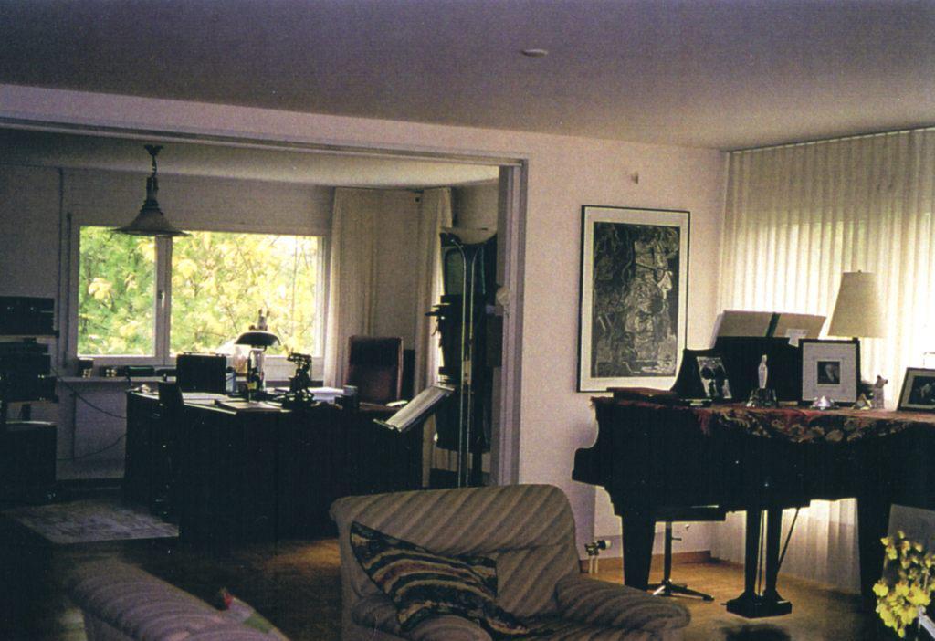 Room in the Barshai's home in Ramlinsburg,  Switzerland