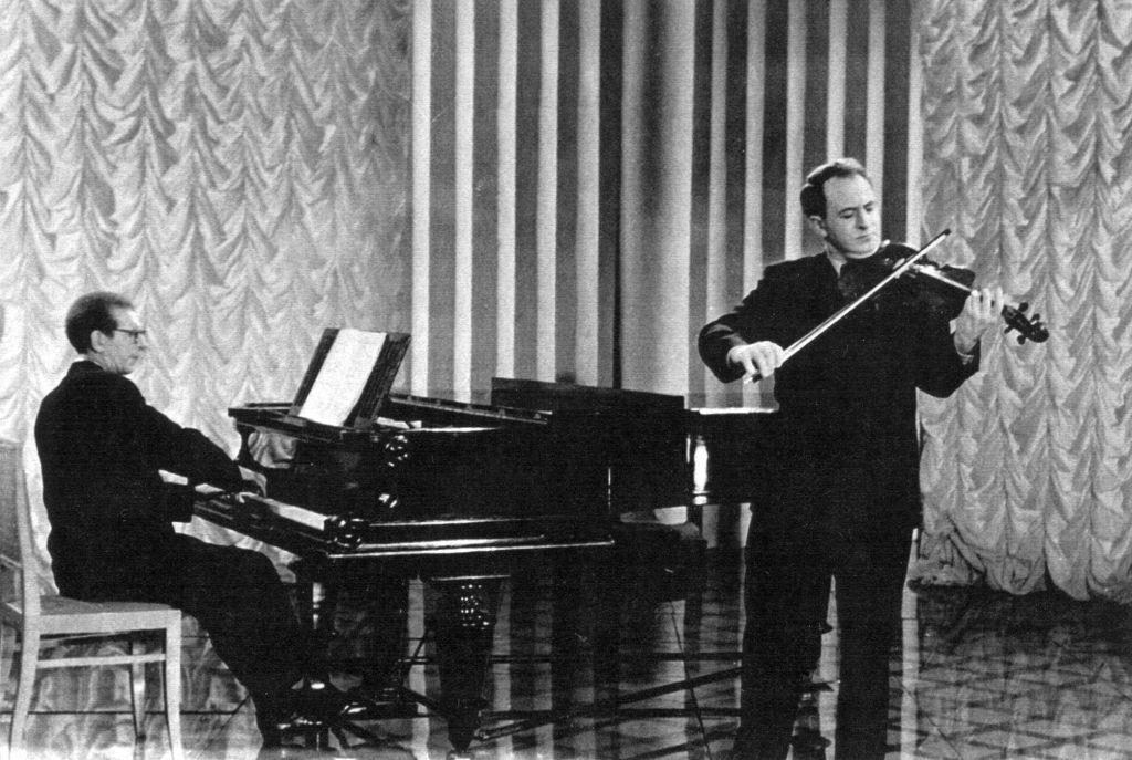 Vladimir Shreibmann (piano), Rudolf Barshai (viola)
