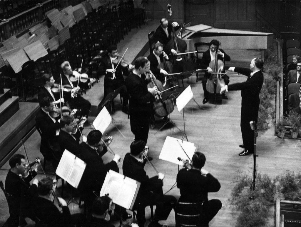 The Moscow Chamber Orchestra. Conductor Rudolf   Barshai. Budapest, 1964