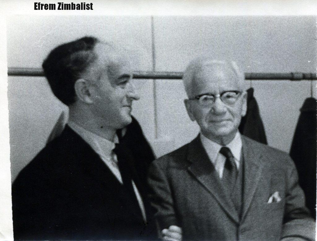 Rudolf Barshai and Efrem Zimbalist