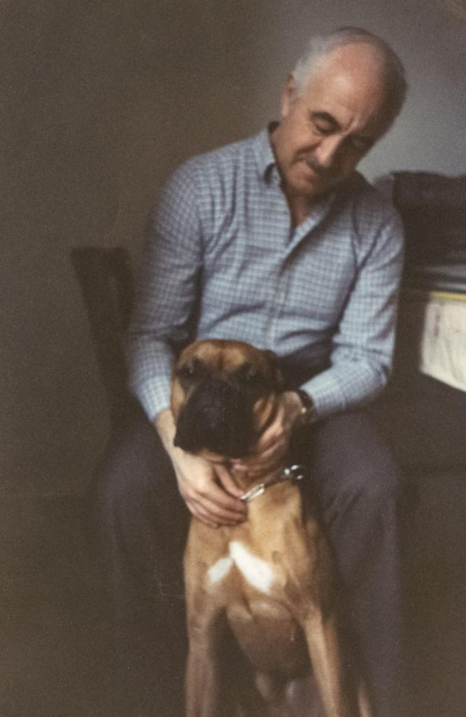 С боксером Цекки. Базель, 1979