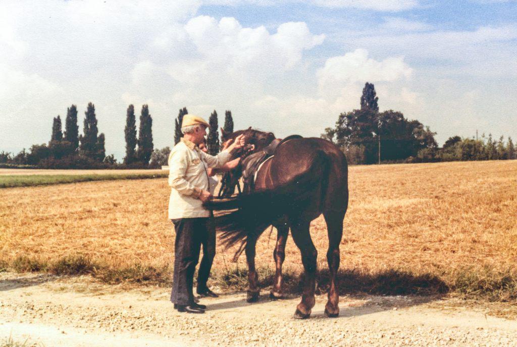 Первое лето в Швейцарии. Недалеко от Женевы, 1978