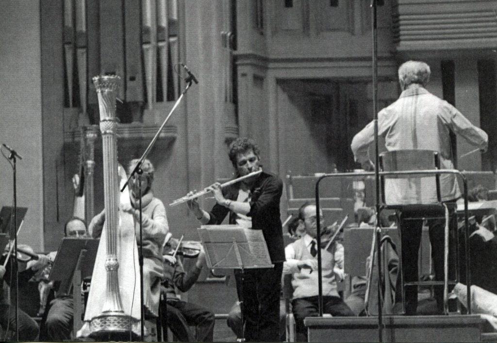 Двойной концерт В.А. Моцарта. Солисты: Урсула   Холлигер (арфа), Орель Николе (флейта). Дирижер   Рудольф Баршай. Бельгия, 1979