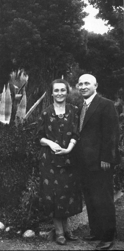 Maria Alexeeva and Boris Barshai, parents of Rudolf   Barshai