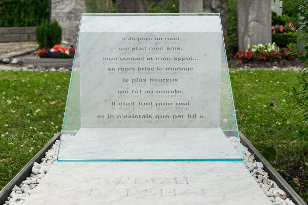 Grave of Rudolf Barshai in Ramlinsburg