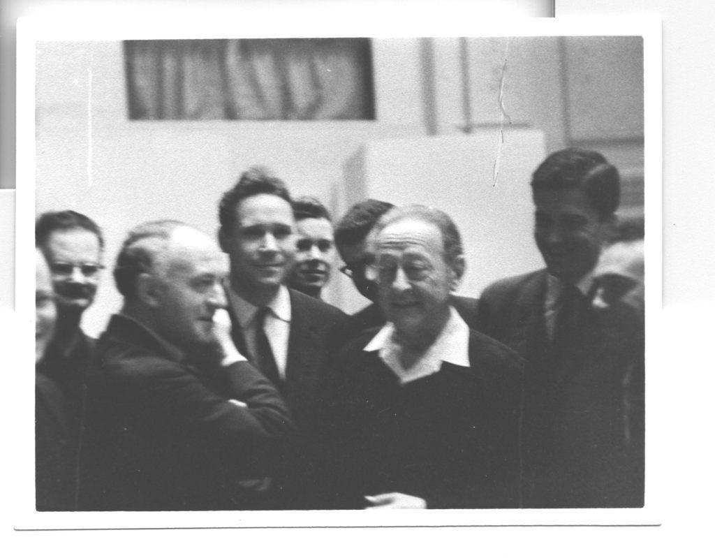 Rudolf Barshai and Jascha Heifetz. 1963