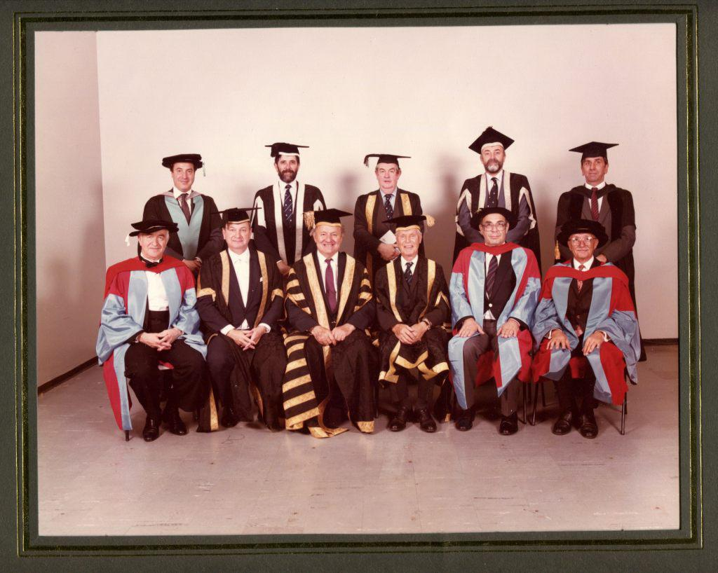 Southhampton University, Honorary Doctor of Music,   1985